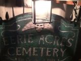 Haunted Cemetery Sign