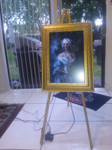 A Video of my Haunted Ghost Portrait