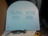 Finally Bought A Dremel For Making Tombstones