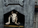 Graveyard Dog Animated Halloween Prop