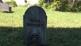 Restless Tombstone Animated HalloweenProp
