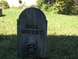 Restless Tombstone Animated Halloween Prop
