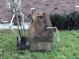 Animated Coffin Creep HalloweenProp
