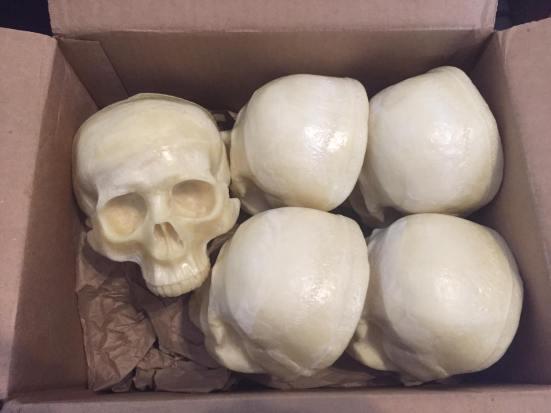 16 skulls in total from Nightmare Makers