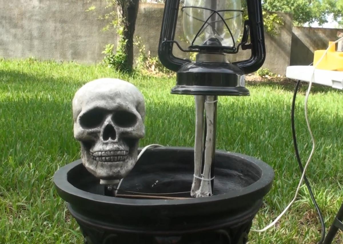 Urn Creep Animated Halloween Prop